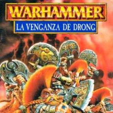 Juegos Antiguos: WARHAMMER, LA VENGANZA DE DRONG. Lote 197350052