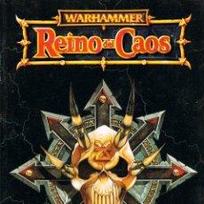 Juegos Antiguos: WARHAMMER, REINO DE CAOS. Lote 197350396