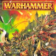 Juegos Antiguos: WARHAMMER, HOJAS DE CONTROL. Lote 197350911