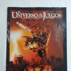 Juegos Antiguos: WARHAMMER EL UNIVERSO DE LOS JUEGOS/GAMES WORKSHOP.. Lote 198518918