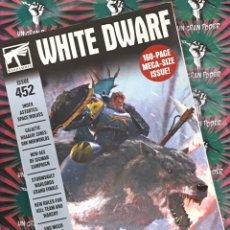 Juegos Antiguos: WHITE DWARF 2020 #452. Lote 199138067