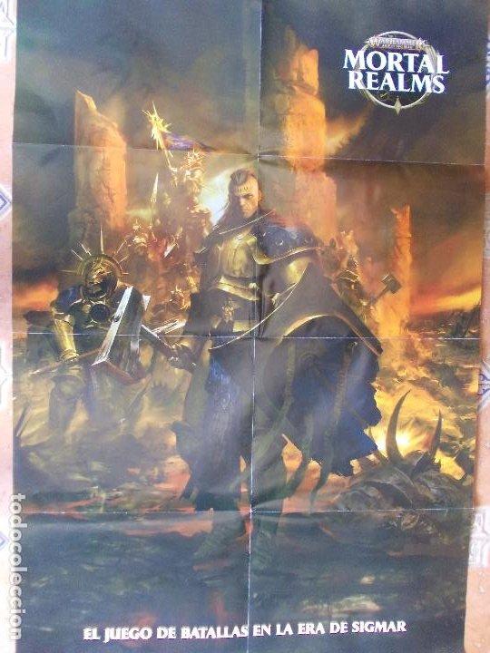 POSTER MORTAL REALMS ERA SIGMAR 88X57 (Juguetes - Rol y Estrategia - Warhammer)