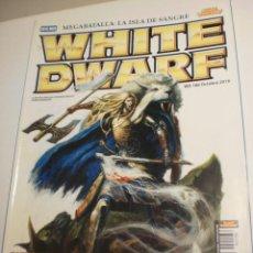 Juegos Antiguos: REVISTA WHITE DWARF Nº 109 NOVIEMBRE 2006 EL SEÑOR DE LOS ANILLOS GAMES WORKSHOP (SEMINUEVA). Lote 199871245