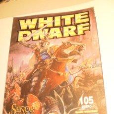 Juegos Antiguos: REVISTA WHITE DWARF Nº 105 2003 EL SEÑOR DE LOS ANILLOS GAMES WORKSHOP (SEMINUEVA). Lote 199871953