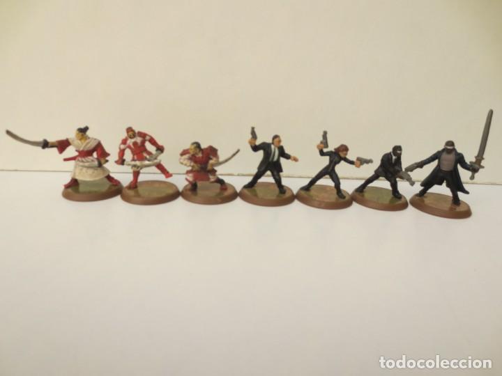 Juegos Antiguos: LOTE DE 23 FIGURAS WARHAMMER - Foto 3 - 199902755