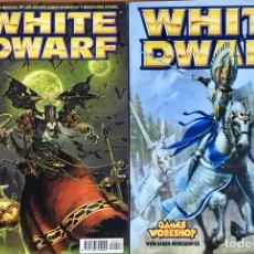 Juegos Antiguos: LOTE 2 REVISTAS NUMEROS Nº 27 Y 82 DE WHITE DWARF - PEDIDO MINIMO 6€. Lote 201301315