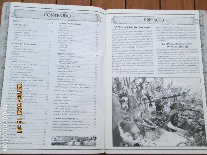 Juegos Antiguos: REVISTA WARHAMMER MAGIA - GAMES WORKSHOP - REF. 3111 - 1997. - Foto 2 - 203425541