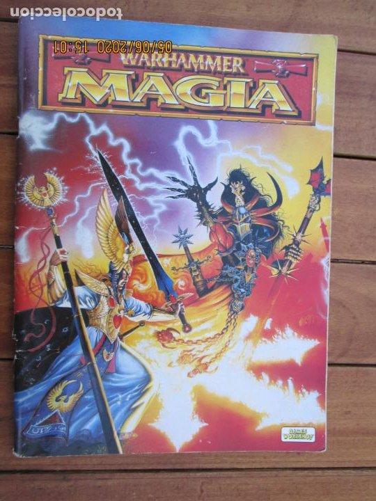 REVISTA WARHAMMER MAGIA - GAMES WORKSHOP - REF. 3111 - 1997. (Juguetes - Rol y Estrategia - Warhammer)