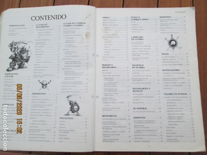 Juegos Antiguos: REVISTA WARHAMMER REGLAMENTO - GAMES WORKSHOP - REF. 3120 - 1993. - Foto 2 - 203425922