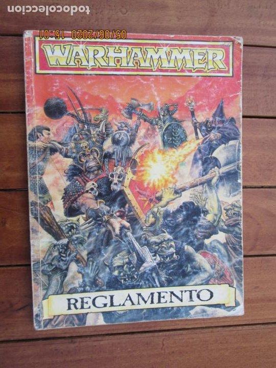 REVISTA WARHAMMER REGLAMENTO - GAMES WORKSHOP - REF. 3120 - 1993. (Juguetes - Rol y Estrategia - Warhammer)