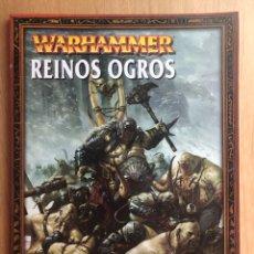 Juegos Antiguos: EJERCITOS WARHAMMER REINOS OGROS. Lote 205309732