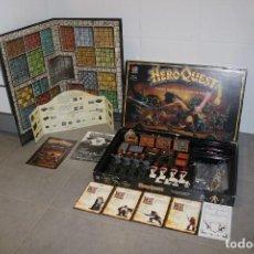 Juegos Antiguos: HEROQUEST ESPAÑOL JUEGO MB GAMES WORKSHOP 1989 COMPLETO GRANDES AVENTURAS. Lote 205358545