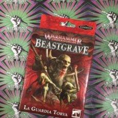 Juegos Antiguos: WARHAMMER UNDERWORLDS BEASTGRAVE LA GUARDIA TORVA. Lote 205460833