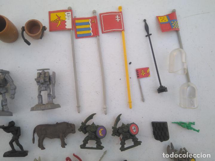 Juegos Antiguos: LOTE UNAS 60 FIGURAS Y PIEZAS JUEGOS DE ROL - WARHAMMER, HEROQUEST O SIMILARES - Foto 5 - 206421730