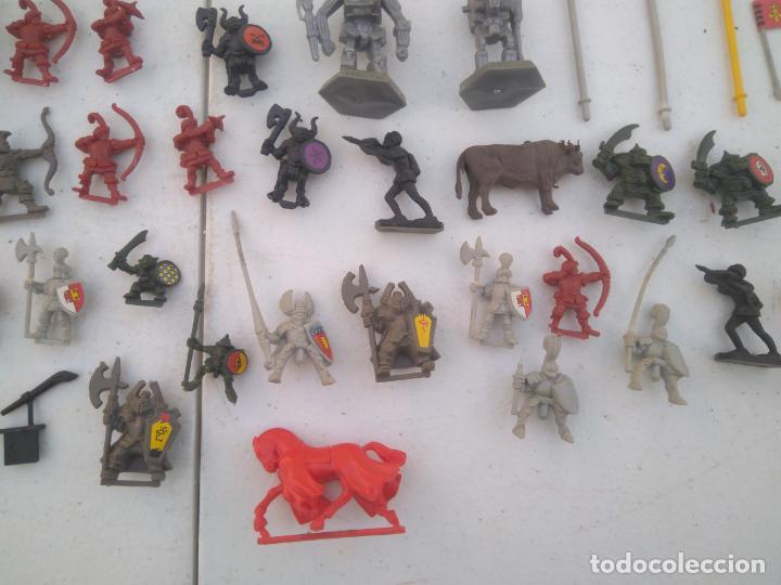 Juegos Antiguos: LOTE UNAS 60 FIGURAS Y PIEZAS JUEGOS DE ROL - WARHAMMER, HEROQUEST O SIMILARES - Foto 7 - 206421730