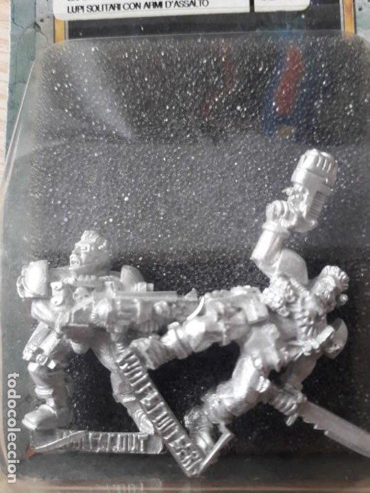 Juegos Antiguos: Exploradores Lobo Arma de Asalto - Warhammer 40k - Foto 2 - 209938397