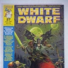 Juegos Antiguos: REVISTA WARHAMMER/WHITE DWARF-GAMES WORKSHOP Nº27.. Lote 210210686