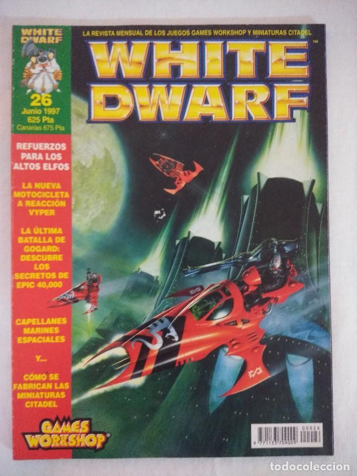 REVISTA WARHAMMER/WHITE DWARF-GAMES WORKSHOP Nº26. (Juguetes - Rol y Estrategia - Warhammer)