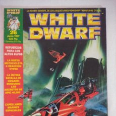 Juegos Antiguos: REVISTA WARHAMMER/WHITE DWARF-GAMES WORKSHOP Nº26.. Lote 210210730