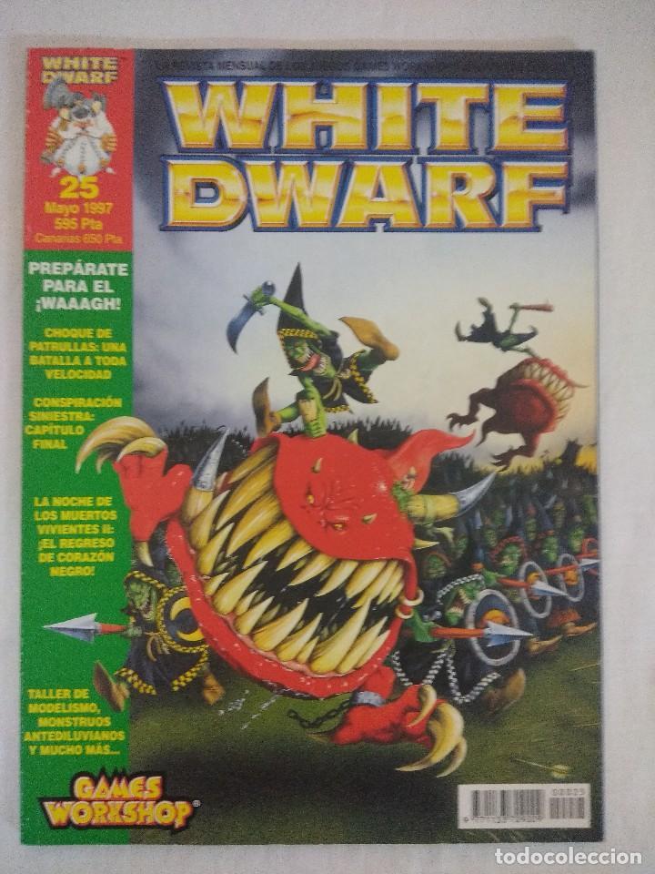 REVISTA WARHAMMER/WHITE DWARF-GAMES WORKSHOP Nº25. (Juguetes - Rol y Estrategia - Warhammer)