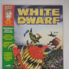 Juegos Antiguos: REVISTA WARHAMMER/WHITE DWARF-GAMES WORKSHOP Nº25.. Lote 210210860