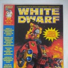 Juegos Antiguos: REVISTA WARHAMMER/WHITE DWARF-GAMES WORKSHOP Nº23.. Lote 210215557