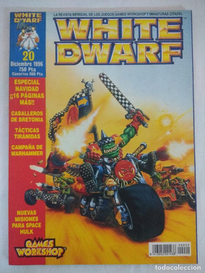 REVISTA WARHAMMER/WHITE DWARF-GAMES WORKSHOP Nº20. (Juguetes - Rol y Estrategia - Warhammer)