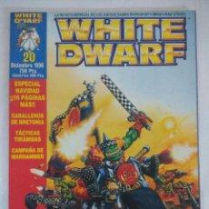 Juegos Antiguos: REVISTA WARHAMMER/WHITE DWARF-GAMES WORKSHOP Nº20.. Lote 210215693