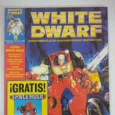 Juegos Antiguos: REVISTA WARHAMMER/WHITE DWARF-GAMES WORKSHOP Nº18/RECORTABLE SPACE HULK.. Lote 210215955