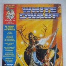 Juegos Antiguos: REVISTA WARHAMMER/WHITE DWARF-GAMES WORKSHOP Nº17/CONTIENE RECORTABLE.. Lote 210216127