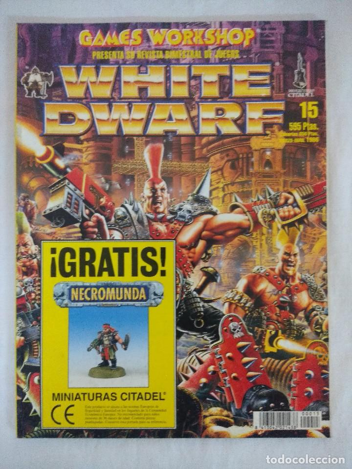 REVISTA WARHAMMER/WHITE DWARF-GAMES WORKSHOP Nº15. (Juguetes - Rol y Estrategia - Warhammer)