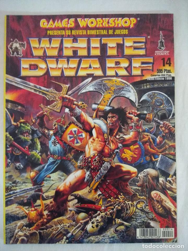 REVISTA WARHAMMER/WHITE DWARF-GAMES WORKSHOP Nº14. (Juguetes - Rol y Estrategia - Warhammer)