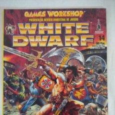 Juegos Antiguos: REVISTA WARHAMMER/WHITE DWARF-GAMES WORKSHOP Nº14.. Lote 210216625