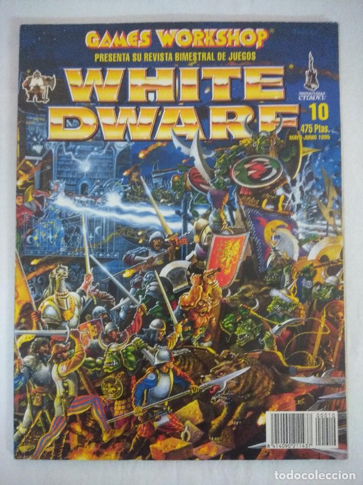 REVISTA WARHAMMER/WHITE DWARF-GAMES WORKSHOP Nº10. (Juguetes - Rol y Estrategia - Warhammer)