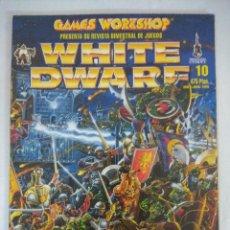 Juegos Antiguos: REVISTA WARHAMMER/WHITE DWARF-GAMES WORKSHOP Nº10.. Lote 210216755
