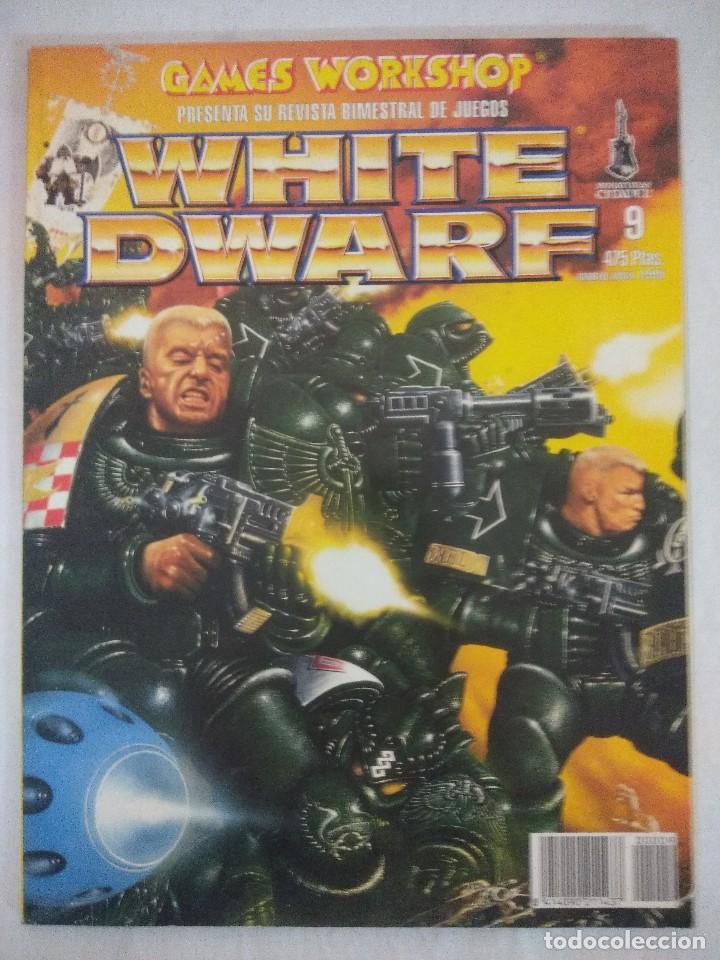 REVISTA WARHAMMER/WHITE DWARF-GAMES WORKSHOP Nº9. (Juguetes - Rol y Estrategia - Warhammer)