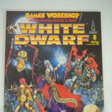 Juegos Antiguos: REVISTA WARHAMMER/WHITE DWARF-GAMES WORKSHOP Nº6.. Lote 210217395