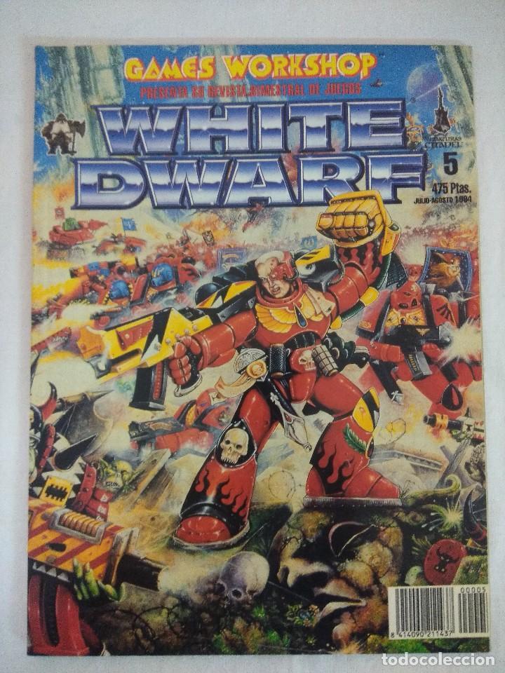 REVISTA WARHAMMER/WHITE DWARF-GAMES WORKSHOP Nº5. (Juguetes - Rol y Estrategia - Warhammer)