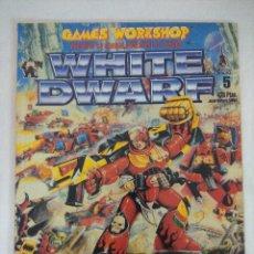 Juegos Antiguos: REVISTA WARHAMMER/WHITE DWARF-GAMES WORKSHOP Nº5.. Lote 210217495