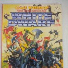 Juegos Antiguos: REVISTA WARHAMMER/WHITE DWARF-GAMES WORKSHOP Nº4/RECORTABLE WARMASTER.. Lote 210217731