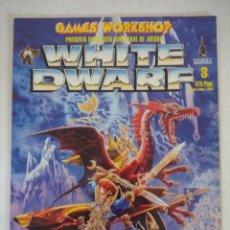 Juegos Antiguos: REVISTA WARHAMMER/WHITE DWARF-GAMES WORKSHOP Nº3... Lote 210217948