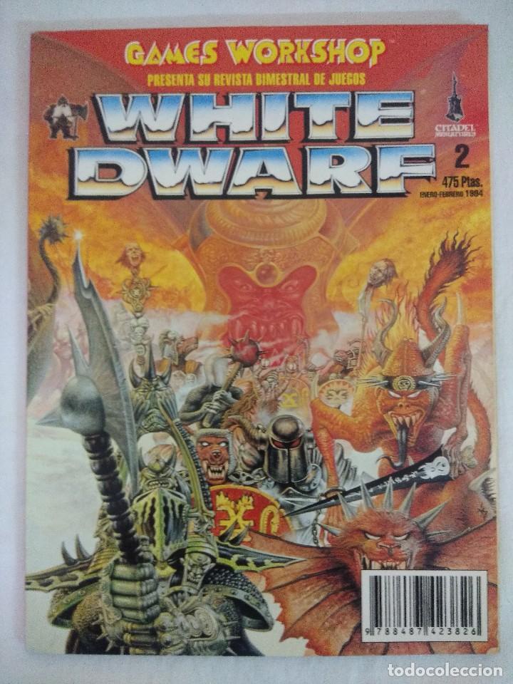 REVISTA WARHAMMER/WHITE DWARF-GAMES WORKSHOP Nº2. (Juguetes - Rol y Estrategia - Warhammer)