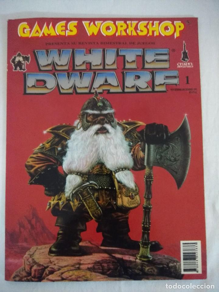 REVISTA WARHAMMER/WHITE DWARF-GAMES WORKSHOP Nº1/RECORTABLE SPACE HULK. (Juguetes - Rol y Estrategia - Warhammer)