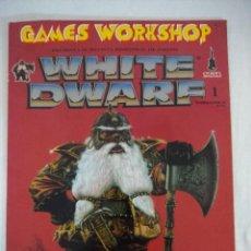 Juegos Antiguos: REVISTA WARHAMMER/WHITE DWARF-GAMES WORKSHOP Nº1/RECORTABLE SPACE HULK.. Lote 210218252