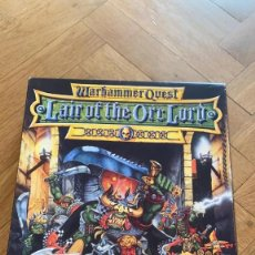 Juegos Antiguos: GAMES WORKSHOP WARHAMMER QUEST. LA GUARIDA DEL SEÑOR ORCO (LAIR OF THE ORC LORD) INGLES. INCOMPLETA. Lote 210560051