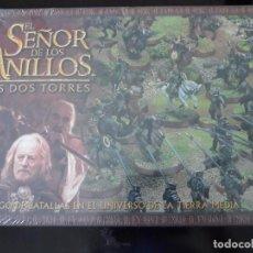 Juegos Antiguos: CAJA DE INICIO DEL SEÑOR DE LOS ANILLOS, LAS DOS TORRES. Lote 211391440
