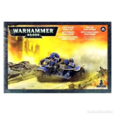 Juegos Antiguos: EARLY EDITION ATTACK BIKES, SPACE MARINES - WARHAMMER 40K. Lote 211895191