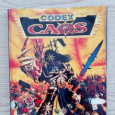 Juegos Antiguos: WARHAMMER 40000 - CODEX - CAOS - SUPLEMENTO - 1996 - GAMES WORKSHOP. Lote 211998608