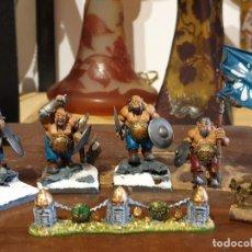 Juegos Antiguos: WARHAMMER LOTE FIGURAS. Lote 212093145