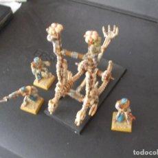 Juegos Antiguos: WARHAMMER (OLDHAMMER): LANZACRÁNEOS EJERCITO REYES FUNERARIOS. Lote 212166368